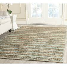 Handmade Jute Rugs Amazon Com Safavieh Cape Cod Collection Cap851d Hand Woven Aqua