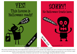 Halloween Boo Poems Printables Printable No Halloween Signs U2013 Festival Collections