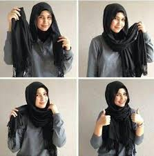 tutorial hijab pashmina tanpa dalaman ninja 4 tutorial pashmina tanpa jarum dan peniti ala rani hatta muslim