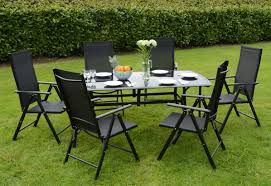 Patio Furniture Metal Mesh - bench contemporary wicker patio furniture stunning black garden