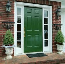 what does the color of your front door say about you white trim