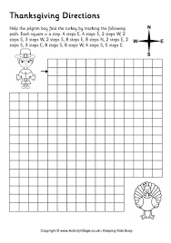 more thanksgiving worksheets