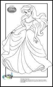 Disney Princess Ariel Coloring Pages Coloring Page For Kids Kids Disney Princess Ariel Coloring Pages