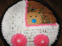 baby shower cookie cake cakecentral com