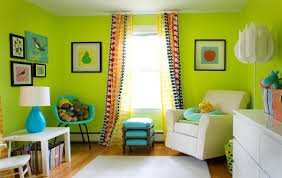 Best Color Curtains For Green Walls Decorating Interior Design Do Black Eyelet Curtains Match With Lime Green