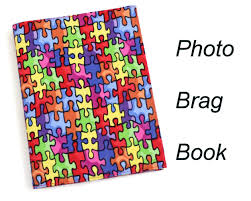 4x6 Brag Book Photo Brag Book Autism Awareness Photo Album 4 X 6 Inch Photo