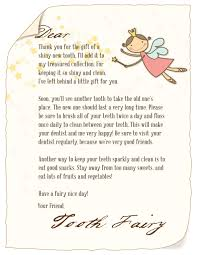 Tooth Fairy Gift Tooth Fairy Letter U2014 Cache Valley Pediatric Dentistry