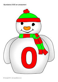 winter themed number classroom display resources sparklebox