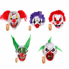 Scary Halloween Clown Costumes Clown Costume Masks Promotion Shop Promotional Clown Costume