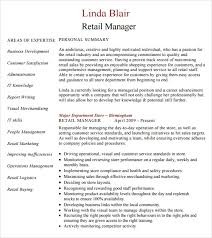 Sample Retail Management Resume by Sample Retail Resume 9 Documents In Pdf Word Psd