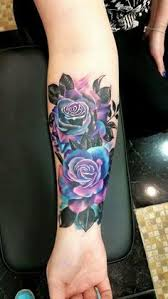 40 lovely tattoos and designs purple tattoos blue