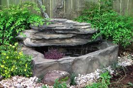 best outdoor rock fountains waterfalls 17 best ideas about rock