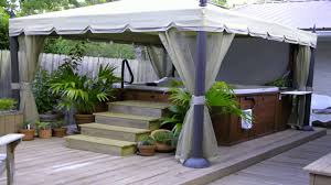 Patio Gazebo 10 X 12 by Replacement Canopy For Home Depots Mediterra Gazebo 10x12 Youtube