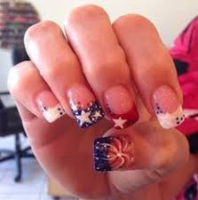 patriotic 4th of july nail ideas makeup nail nail and holidays