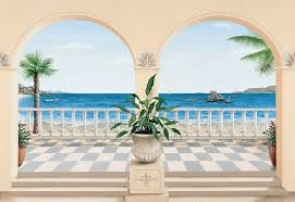 Trompe L Oeil Wallpaper by Trompe L U0027oeil Murals