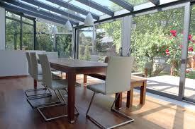 verre pour veranda véranda moderne exemples prix et matériaux