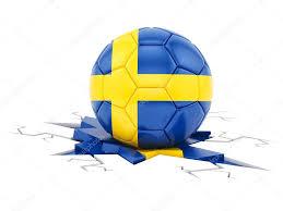 Sweden Flag Image Football With The Flag Of Sweden U2014 Stock Photo Fzsolt1234 105466552