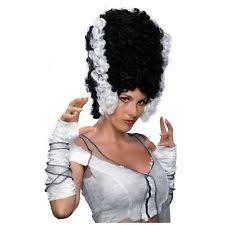 Frankie Halloween Costume Bride Frankenstein Wig Ebay