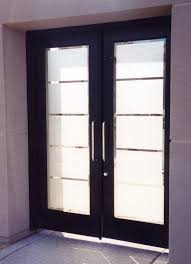 etched glass doors grand tall modern design etched glass front doors