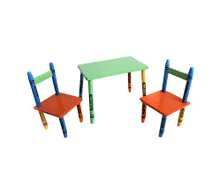 crayola table and chairs childrens table and chair set amazon co uk kitchen home