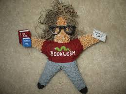 bookworm starfish ornament book lover librarian career