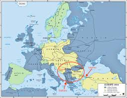 World War 2 In Europe And North Africa Map by The Great War History Hub