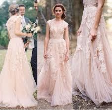 pink dress for wedding pink lace wedding dress obniiis com
