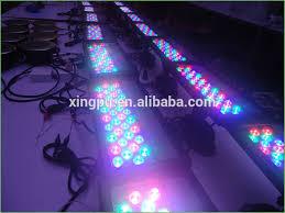 lighting 54 led commercial grade color changing solar flood