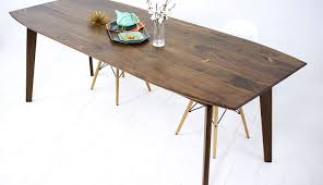 modern kitchen table table surfboard wonderful mid century dining table travertine