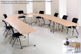 Folding Meeting Tables Reconfigurable Modular Tables Boardroom Furniture