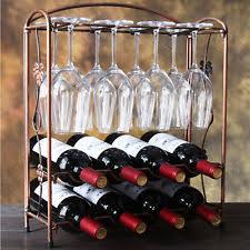unbranded iron countertop wine racks u0026 bottle holders ebay