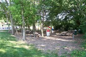 recreational areas