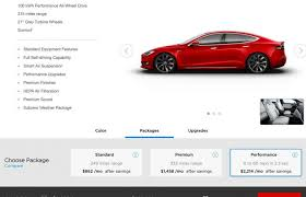 tesla updates configurator for model s and x 90kwh option will be