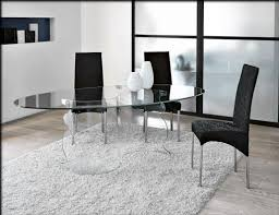 Glass Dining Sets  Glass Dining Room Tables To Revamp With - Modern glass dining room furniture