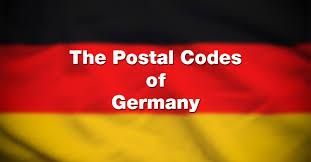germany zip codes list of postal codes in germany