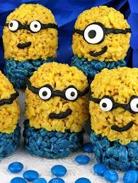 minions rice krispie treats sisters crafting