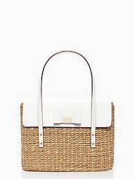 straw bag vintage tote bag woven wicker by newoldfashionvintage