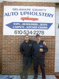 Upholstery Delaware How Did You Learn Auto Upholstery
