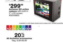 black friday camcorder deals sears