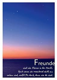 nette sprüche für freunde schöne sprüche postkarte freundschaft und sterne freunde sind wie