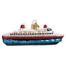 cruise ship ornament ebay