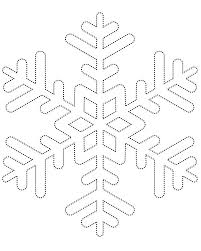 elf shelf snowflake template pdf doodle draw art coloring