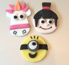 despicable me cake topper popular items for agnes unicorn on etsy birthday party ideals