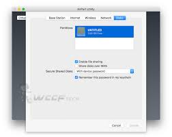 Map Network Drive Mac How To Set Up Network Attached Storage On Airport Extreme How To