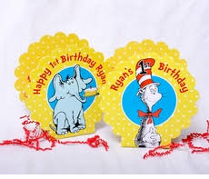 Dr Seuss Decorations Thing 1 U0026 Thing 2 Dr Seuss Party