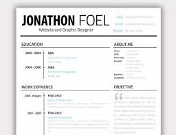 free minimalist resume designs 20 free resume design templates for web designers elegant