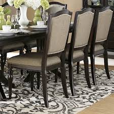 table good looking 60 havana espresso pedestal round table set