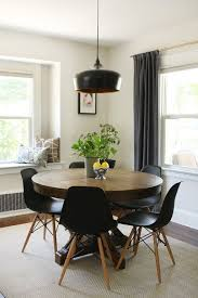 Modern Dining Room Table And Chairs by Remodelaholic Dining In Style Neutral Mid Century Modern Dining