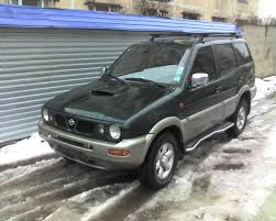 nissan vanette modified nissan terrano ii technical details history photos on better
