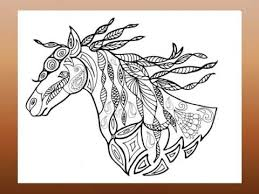 coloring book horses jeanette roycraft
